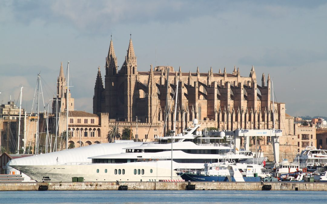 A day in the life of a superyacht agent: Estela Shipping Palma.