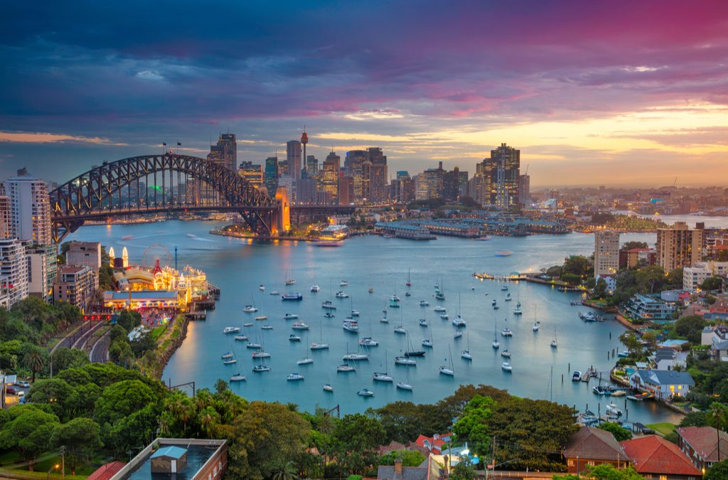Ring in the new year in one of the world's best harbour cities