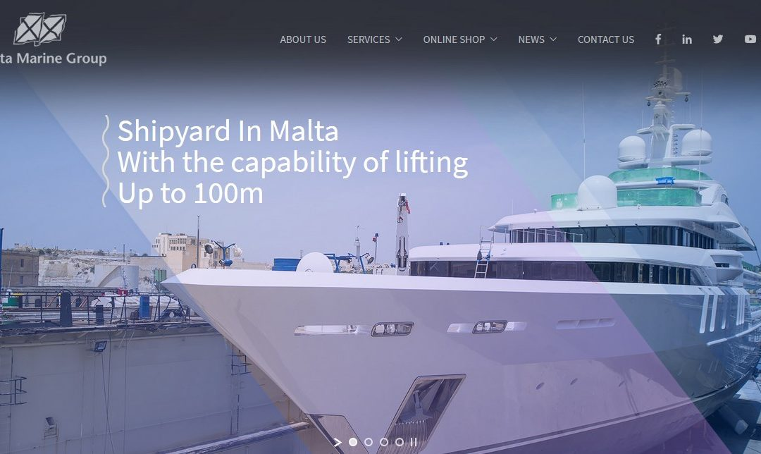 Guest blog: Melita Marine Group launch a new website