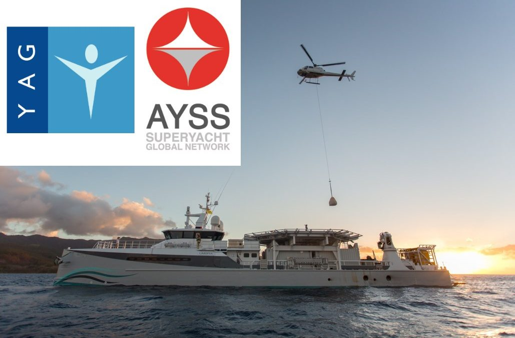 AYSS first to sign crucial Yachting Pledge with Yacht Aid Global